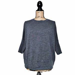 Anthropologie Dolman sleeve Wool sweater